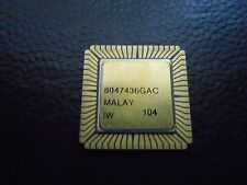 1X INTEL R80C185 VINTAGE CERAMIC CPU FOR GOLD SCRAP RECOVERY RARE