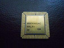 1X INTEL R80C185 VINTAGE CERAMIC CPU FOR GOLD SCRAP RECOVERY RARE