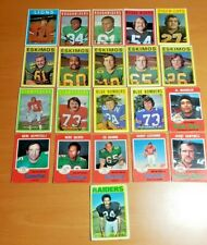 1971 & 1972 OPC CFL football card lot 20 cards!!