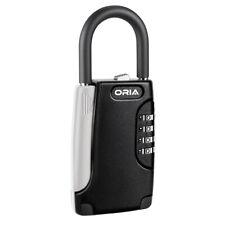 Padlock 4-Digit Combination Code Password Key Lock Storage Box Safe Security-Gym