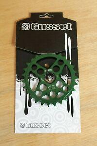 Gusset 4 Cross Chainwheel Chainring 27t Green
