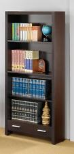 #800905 Home Office Study Room Furniture Wooden Coaster Furniture w/4 Shelves