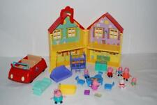 Peppa Pig Figures House Furniture Playset Car with Sounds