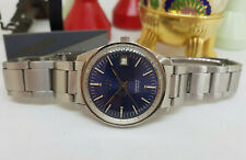 USED VINTAGE LONGINES CONQUEST BLUE DIAL DATE AUTOMATIC MAN'S WATCH