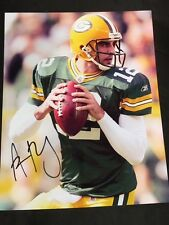 NFL Aaron Rodgers Green Bay Packers ORIGINAL Autographed Signed 8x10 picture