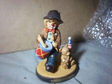 Emmett Kelly Jr. (Little Emmett July Figurine )1998 ( Patriotic.)Drummer Boy