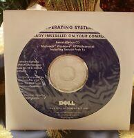 Dell Microsoft Windows XP Professional Reinstall CD - BRAND NEW