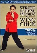STREET FIGHTING APPLICATIONS WING CHUN 2: NO RULES - DVD - Region Free