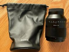 Sony Planar T 50mm F/1.4 FE ZA Lens For Sony - Excellent Condition