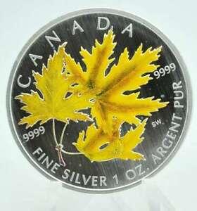 1 OZ Silber Maple Leaf Canada 2006 color Lagerräumung