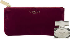 Gucci Bamboo EDP Splash 0.16 fl Clutch Purse Makeup Case Bag
