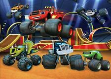 BLAZE AND THE MONSTER MACHINES A4 POSTER WALL ART