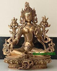 temple Padmapani Buddhism Buddha Tara GuanYin Bodhisattva Old bronze Statue