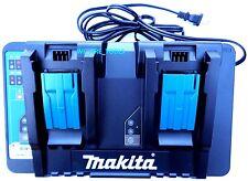 Makita DC18RD 18V Dual Battery Charger 18 Volt 4 BL1830, BL1840, BL1850 USB 36V