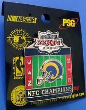 Nfl 2000 Super Bowl Xxxiv St. Louis Rams Nfl Champions Collectible Psg Pin Rare