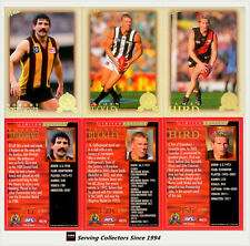 2012 Select AFL Eternity Hall of Fame S4 Card Hof185 Checklist