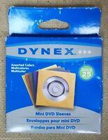 25 Dynex mini DVD Sleeves