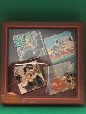 Disney Jungle Book 50th Anniversary Limited Edition 500 4 Pin Box Set Brand New