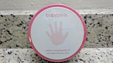 Babyprints Create A Lasting Keepsake Of Your Baby's Hand Or Foot