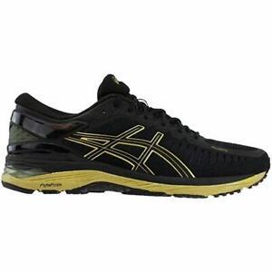 ASICS GEL Metarun Premium Men's Sneakers - Black/Onyx/Gold - New in Box