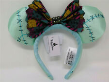 New Disney Parks Nightmare Before Christmas Sally Minnie Mouse Headband Kids Ear