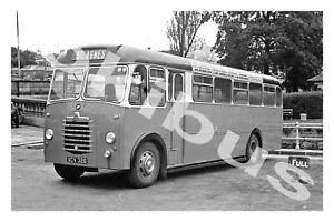 Bus Photograph HARPER & KELLOW St.Agnes XCV 326 ['59]