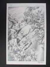 Justice League of America 80 Page Giant #1 (Original Art) Cover by Jay Anacleto! Comic Art