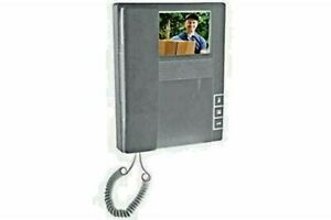 """Door Intercom with 4"""" Colour Screen Night Vision and Handset *UK Stock*"""