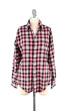 Brooks Brothers 346 Soft Cotton Flannel ORIGINAL POLO SHIRT Plaid Button-down S