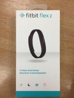 Fitbit Flex 2 Fitness Smart Watch Large & Small - Black