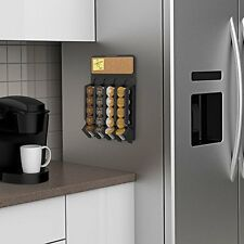20 K-Cups Storage Organizer Fridge Wall Rack Cafe K Cup Coffee Holder Tea Pods