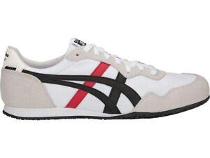 NEW Asics Onitsuka Tiger Serrano 1183A237 100 Mexico 66 White Black Men's Shoes