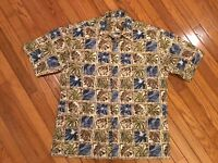 Hollis River Hawaiian Shirt Size L