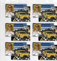 """HANK BLANEY - 2002 PRESS PASS TRACKSIDE """"LICENSE TO DRIVE"""" INSERT - 220 CARD LOT"""