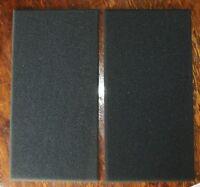 "2 lot DJ Speaker Woofer Amp Cabinet replacement Grille Foam 18.5"" x 9.5"" x 3/4"""