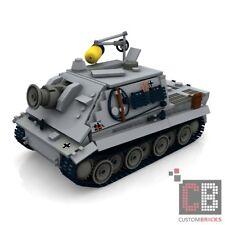 CUSTOM PDF Instructions WW2 WWII Tank STURMTIGER for LEGO® Bricks