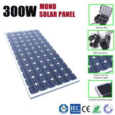 12v 300w Solar Panel 300 Watt Mono Caravan Camping Home Battery Charging Power