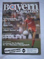 Orig.PRG   1.BL   1983/84   FC BAYERN MÜNCHEN - EINTRACHT BRAUNSCHWEIG !! SELTEN
