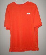 CHAMPION polyester athletic T shirt dryfit orange lrg NWT dayglo reflective logo