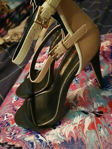 Womens High Heel Sandals Size 5 By Miss Selfridge