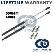 2X Muelles de gas puntales Universal Kit de coche o de conversión 550 mm 55 cm 600N & 4 Pines