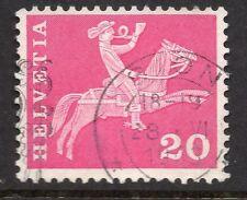 Svizzera BEL TIMBRO POSTALE 1919 su 20c. 062027