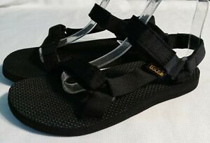 Teva Women's Original Universal Sandals Size US 8 Black 1003987