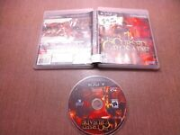 Sony PlayStation 3 PS3 Disc Case No Manual Tested The Cursed Crusade Ships Fast
