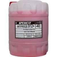 20 Liter PEMCO Kühlerfrostschutz Typ G12+ Kühlmittel Antifreeze (-40) ROT