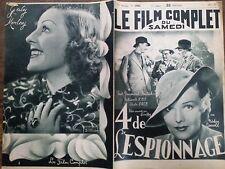 """LE FILM COMPLET 1937 N 1906 """" QUATRE DE L'ESPIONNAGE """" avec MADELEINE CARROLL"""