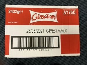 Celebrations Chocolate 2.4kg Box! Clearance Short dated Best Before 23rd May 21