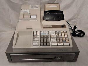 TEC MA 1350-1 Electronic Cash Register Manual Key Printer Display Drawer Repair