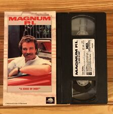 Magnum Pi, A Sense Of Debt (VHS, 1983) Tom Selleck, Shannen Doherty