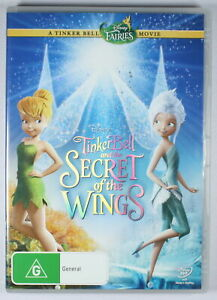TinkerBell and the Secret Of The Wings DVD FREE POST